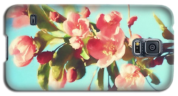 Spring Blossoms In Digital Watercolor Galaxy S5 Case