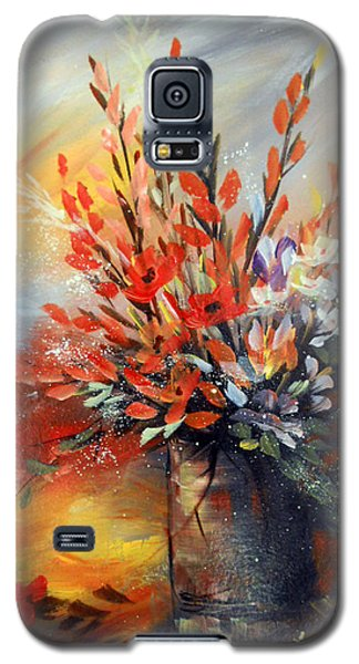 Galaxy S5 Case featuring the painting Spring Branches by Dorothy Maier
