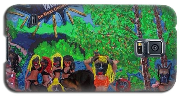 Galaxy S5 Case featuring the painting Spring Break 2013 by Lisa Piper