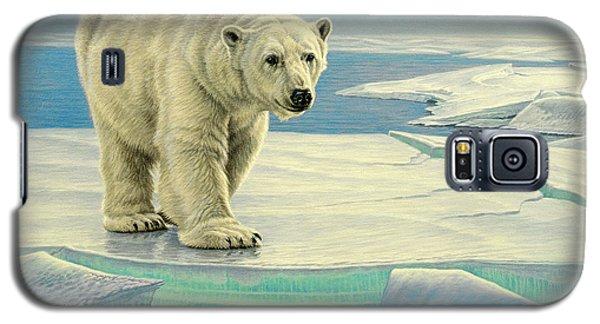 Polar Bear Galaxy S5 Case - Spring Break by Paul Krapf