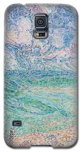 Spring Clouds Over The Azov Sea Galaxy S5 Case