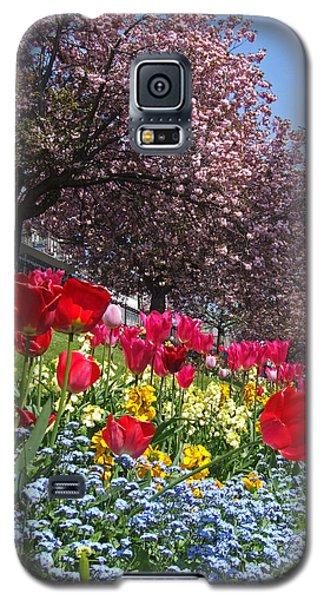 Spring Flowers - Edinburgh Galaxy S5 Case