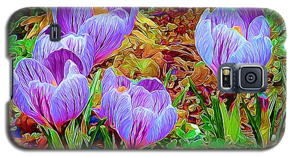 Spring Crocuses Galaxy S5 Case