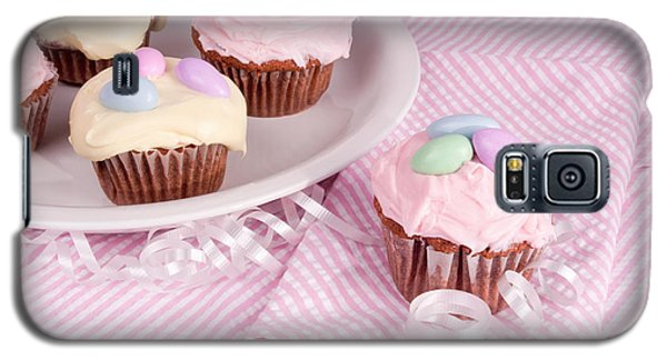 Cupcakes With A Spring Theme Galaxy S5 Case