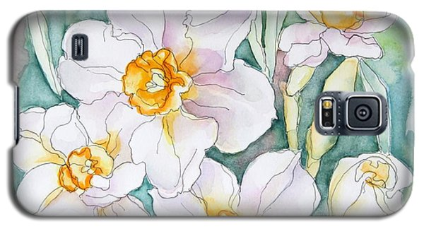 Spring Daffodils Galaxy S5 Case by Inese Poga