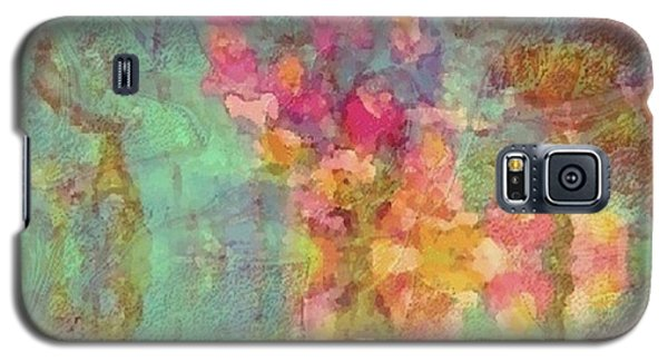 Galaxy S5 Case featuring the painting Spring Dream by Holly Martinson