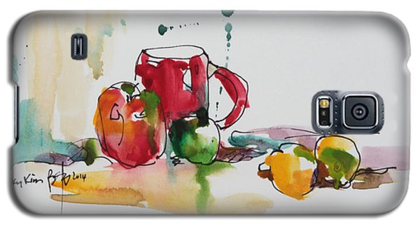 Spring Energy Galaxy S5 Case by Becky Kim