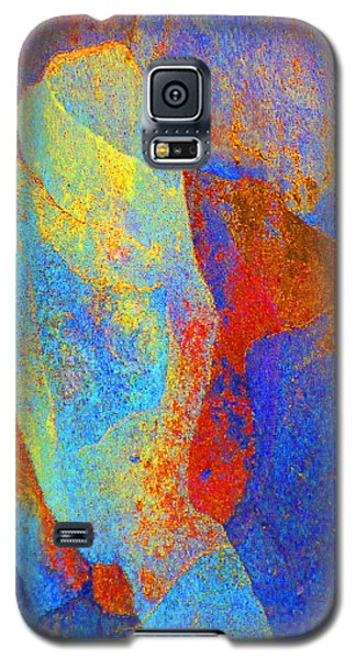 Galaxy S5 Case featuring the photograph Spring Eucalypt Abstract 13 by Margaret Saheed