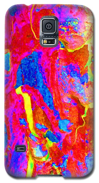 Galaxy S5 Case featuring the photograph Spring Eucalypt Abstract 14 by Margaret Saheed
