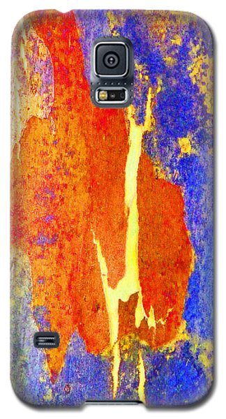 Galaxy S5 Case featuring the photograph Spring Eucalypt Abstract 5 by Margaret Saheed