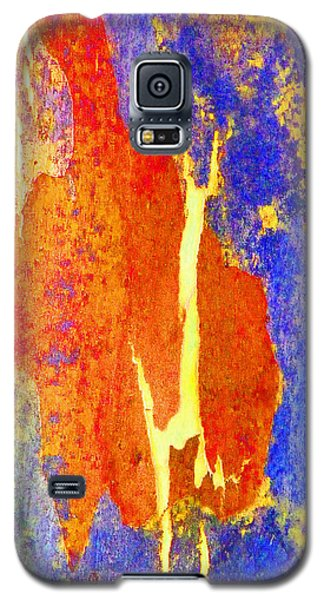 Spring Eucalypt Abstract 5 Galaxy S5 Case