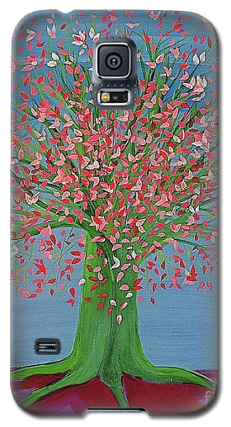 Spring Fantasy Tree By Jrr Galaxy S5 Case