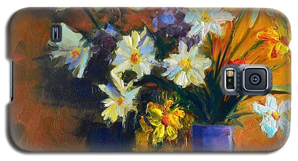 Spring Flowers In A Vase Galaxy S5 Case