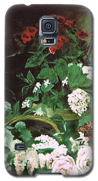 Spring Flowers Study Of Monet Galaxy S5 Case by Seth Weaver