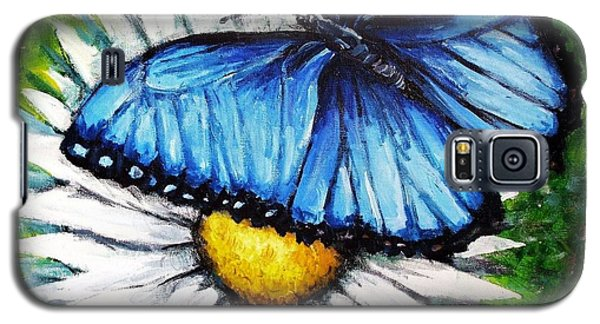 Galaxy S5 Case featuring the painting Spring Has Sprung by Shana Rowe Jackson