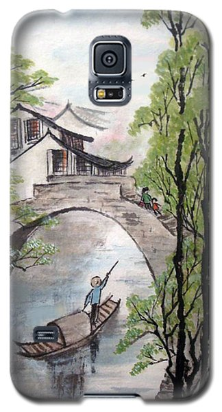 Galaxy S5 Case featuring the photograph Spring In Ancient Watertown by Yufeng Wang