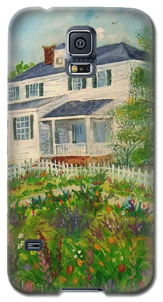 Spring In Colonial Williamsburg- Cole House Galaxy S5 Case