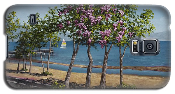 Spring In Kings Beach Lake Tahoe Galaxy S5 Case