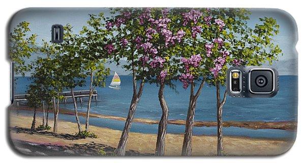 Spring In Kings Beach Lake Tahoe Galaxy S5 Case