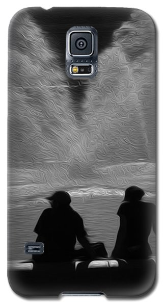 Galaxy S5 Case featuring the digital art Spring In The Metro by Kelvin Booker