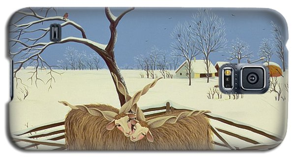 Spring In Winter Galaxy S5 Case by Magdolna Ban