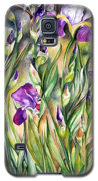 Spring Iris Galaxy S5 Case