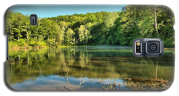 Spring Mill Lake Galaxy S5 Case