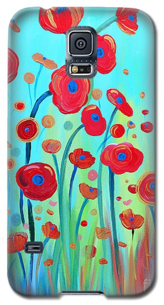 Galaxy S5 Case featuring the painting Spring Musings by Stacey Zimmerman