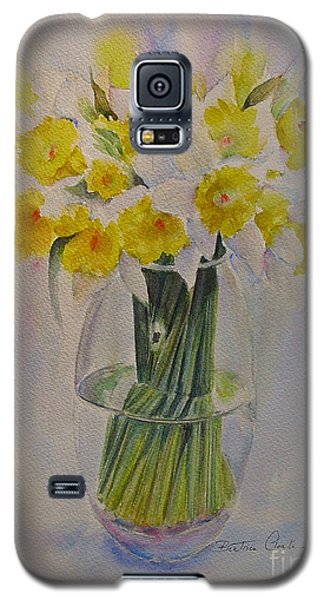 Galaxy S5 Case featuring the painting Spring Of Course by Beatrice Cloake