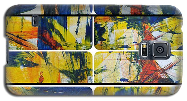 Galaxy S5 Case featuring the painting Spring Part One by Sir Josef - Social Critic - ART