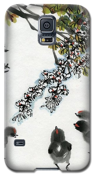 Spring Galaxy S5 Case by Ping Yan