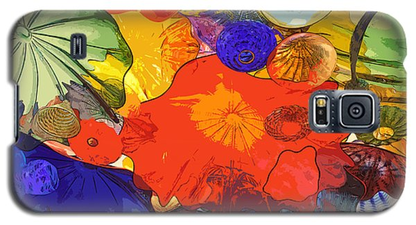 Galaxy S5 Case featuring the digital art Spring Poppies by Kirt Tisdale