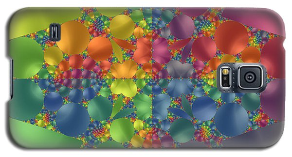 Spring Promises Fractal Galaxy S5 Case