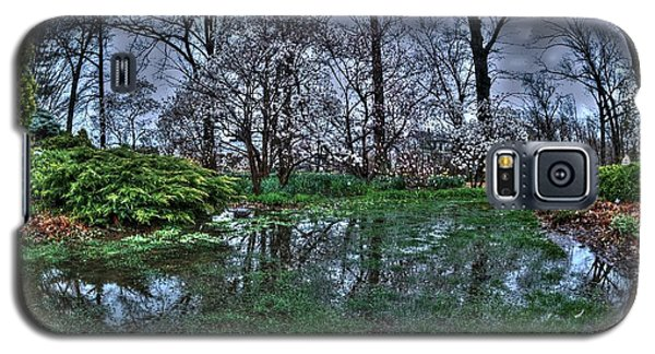 Galaxy S5 Case featuring the photograph Spring Rains In The Garden by Kimberleigh Ladd