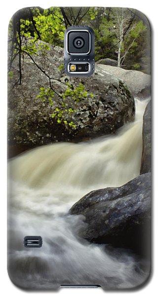 Galaxy S5 Case featuring the photograph Spring Runoff by Ellen Heaverlo
