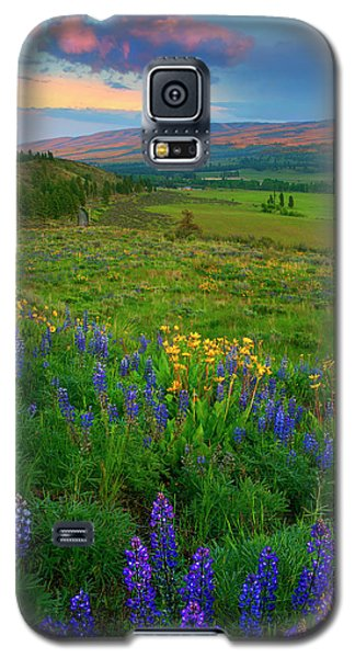 Spring Storm Passing Galaxy S5 Case by Mike  Dawson