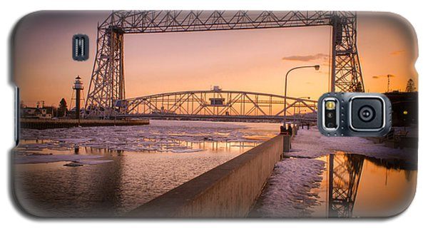 Galaxy S5 Case featuring the photograph Spring Sunset In Canal Park by Mark David Zahn