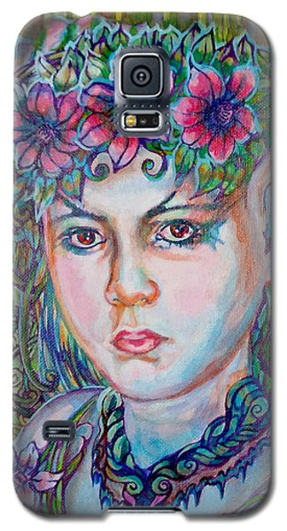 Galaxy S5 Case featuring the painting Spring by Suzanne Silvir