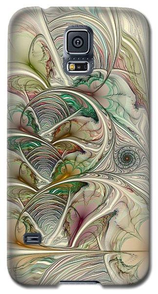 Galaxy S5 Case featuring the digital art Spring Thaw by Kim Redd