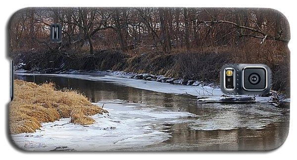 Spring Thaw On The Creek Galaxy S5 Case