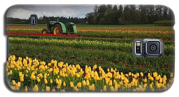 Spring Tulip Fields Galaxy S5 Case