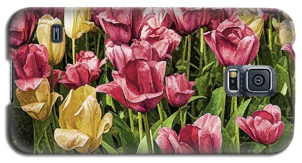 Spring Tulips Galaxy S5 Case by Linda Blair