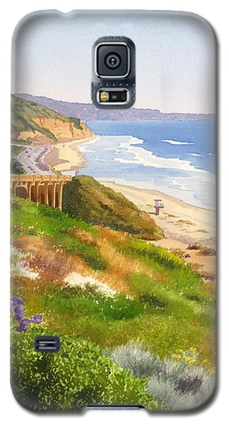 Planets Galaxy S5 Case - Spring View Of Torrey Pines by Mary Helmreich
