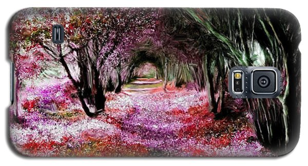 Spring Walk In The Park Galaxy S5 Case by Bruce Nutting