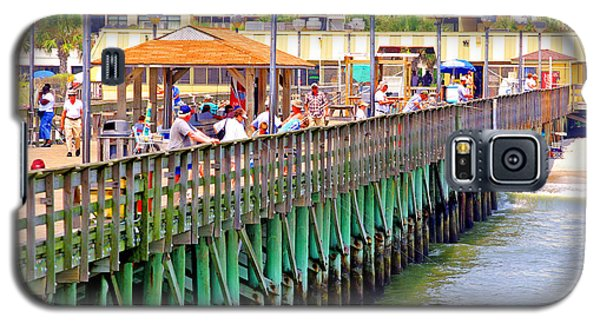 Springmaid Beach Pier 2006 Galaxy S5 Case