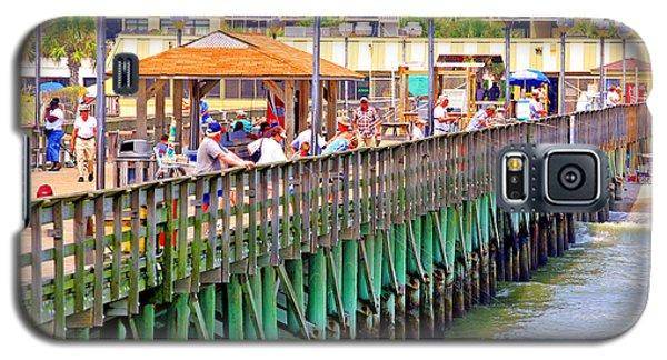 Springmaid Beach Pier 2006 Galaxy S5 Case