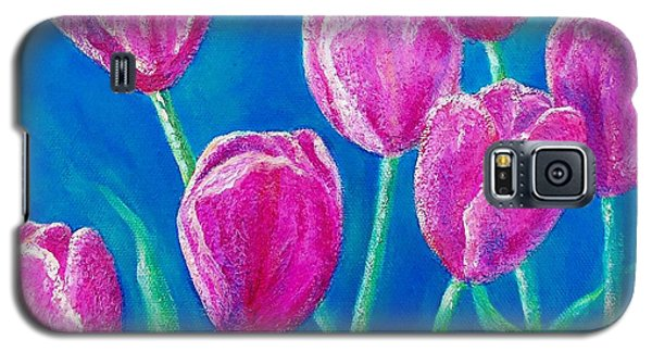 Galaxy S5 Case featuring the painting Spring's Surprise by Susan DeLain