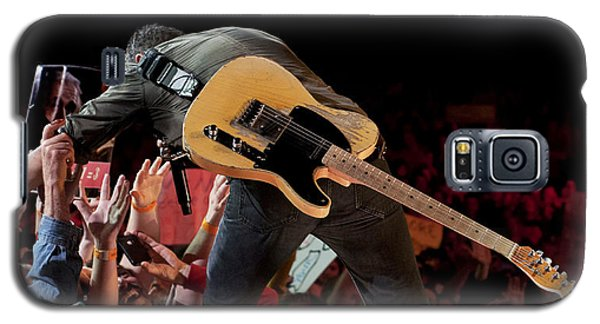 Springsteen In Charlotte Galaxy S5 Case by Jeff Ross