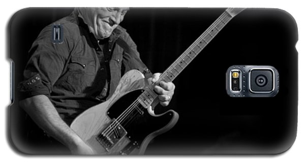 Springsteen Shreds Bw Galaxy S5 Case by Jeff Ross