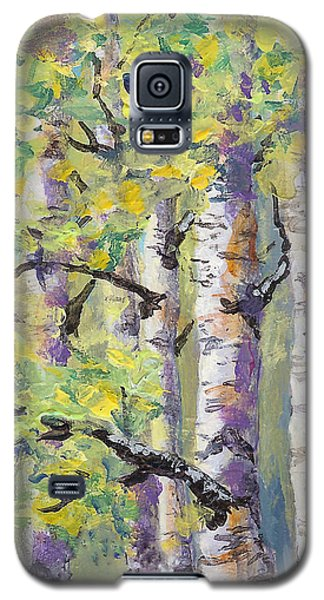 Springtime Birches Galaxy S5 Case